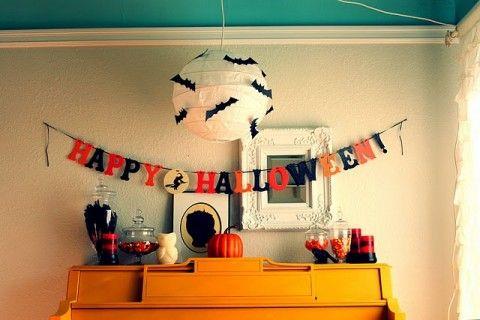 HALLOWEEN!Today Guest, Halloween Decor, Paper Lanterns, Halloween Parties Decor, Cute Halloween, Bats Lanterns, Spooky Halloween, Halloween Banners, Happy Halloween
