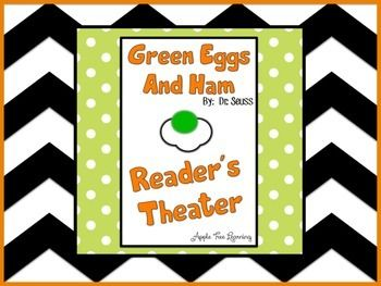 green eggs and ham pdf