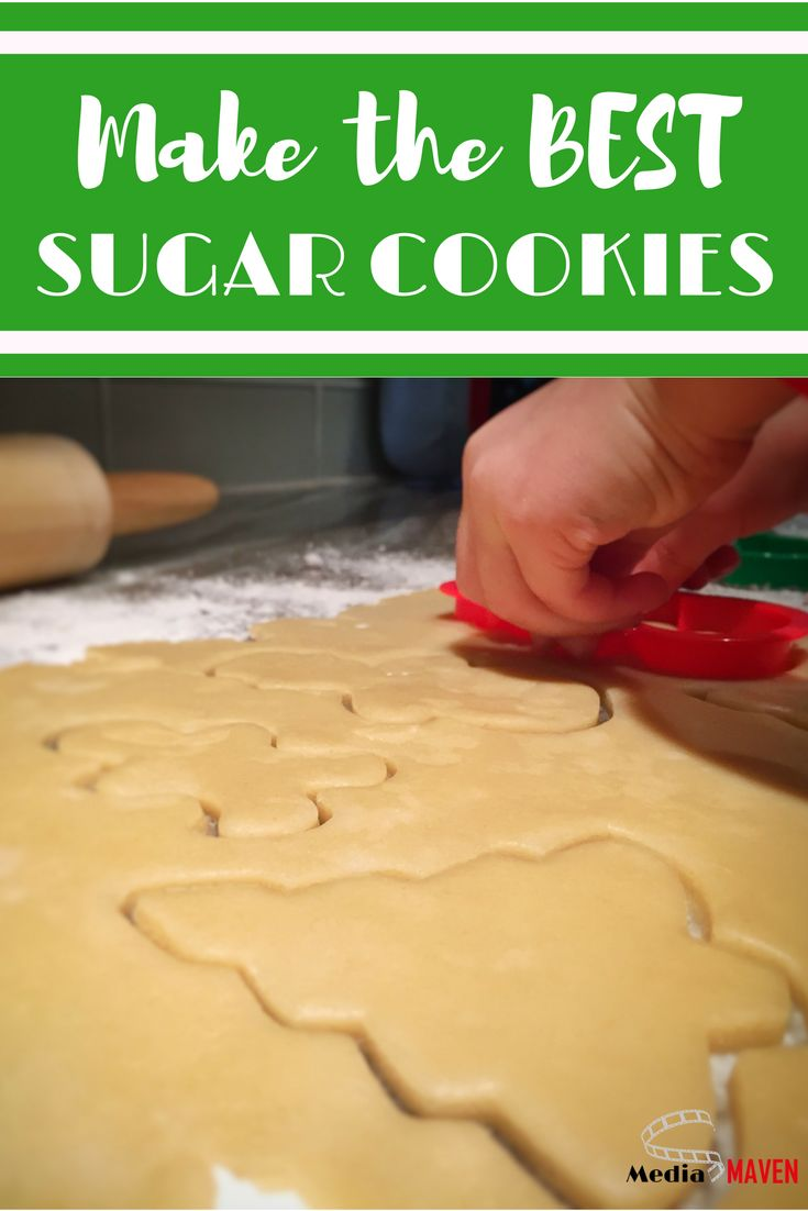 There is nothing more fun to make around Christmas than sugar cookies.   That's why I'm sharing the best sugar cookie recipe AND sugar cookie icing recipe I've come across.  It's so easy, even a four-year-old can make it! (Yes, there is a video tutorial of baking sugar cookies.)