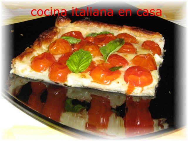 Torta de tomates (Cocina italiana en casa)