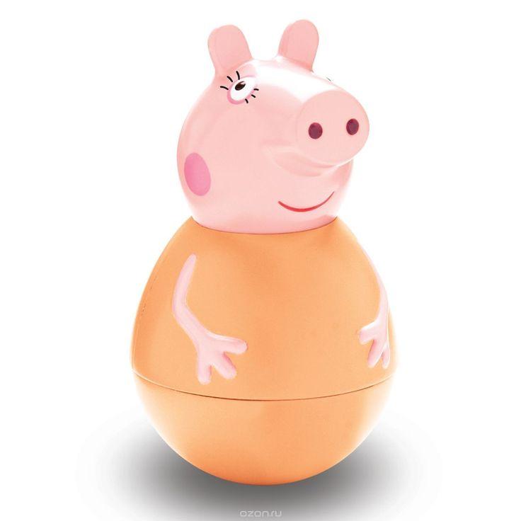 Peppa Pig Фигурка неваляшка Мама Пеппы28797Фигурка-неваляшка «Мама Пеппы» ТМ «Свинка Пеппа» с выпуклыми ручками имеет размер 11,2 х 6,5 см. Игрушка выполнена из пластика и пластизоля. Товар сертифицирован и безопасен для детского использования. Упаковка – коробка с блистером размером 23,5 х 19 х 9 см.