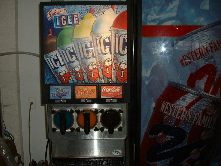 Icee FCB Countertop Machine - would be  fun to own this