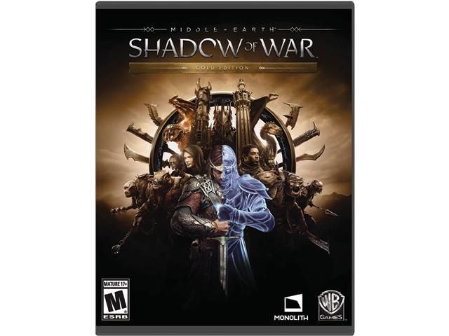 [Newegg] Middle Earth: Shadow of War - Gold Edition PC Online Code ($49.99) (promo code EMCBCCE25)