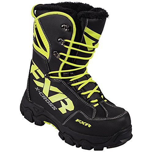 2016 FXR Black and Yellow Hi-Visibility Mens 5 & Womens 7 X-Cross Snowmobile Winter Boots https://motorcyclejacketsusa.info/2016-fxr-black-and-yellow-hi-visibility-mens-5-womens-7-x-cross-snowmobile-winter-boots/