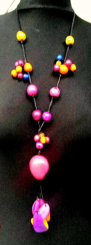 Check out this item in my Etsy shop https://www.etsy.com/listing/237778179/dream-tagua-necklace