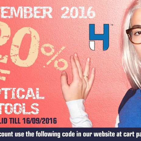 Great Offer 20 % off on all Optical tools at www.hcstores.com