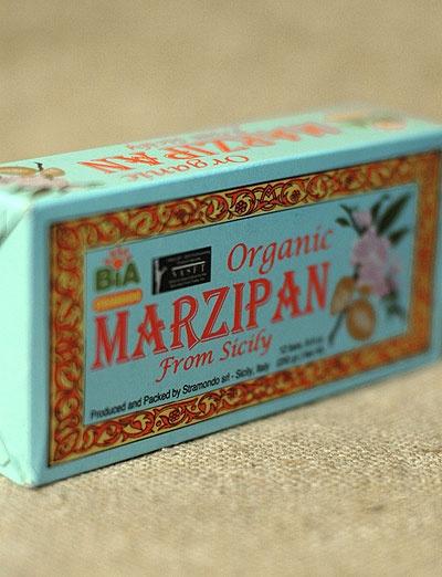organic sicilian marzipan