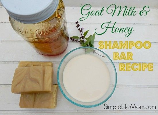Goat Milk and Honey Shampoo Soap Recipe - Simple Life Mom