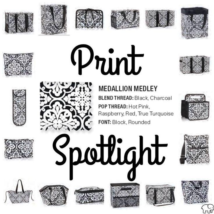 Print Spotlight for Spring/Summer 2017 Thirty-One - Medallion Medley #newcatalog #Carrie31Bags