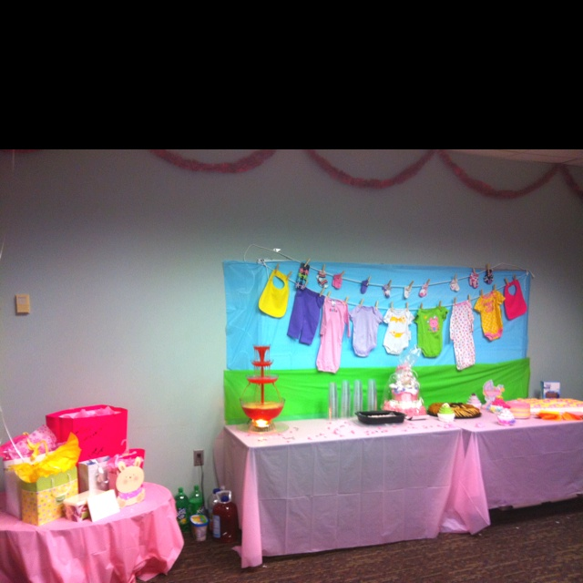 Baby shower at the office.