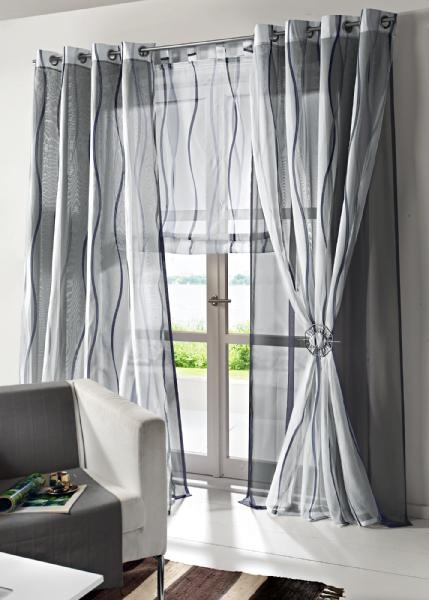 Tende a pacchetto in voile trasparente tende pinterest for Meccanismo tende a pacchetto ikea