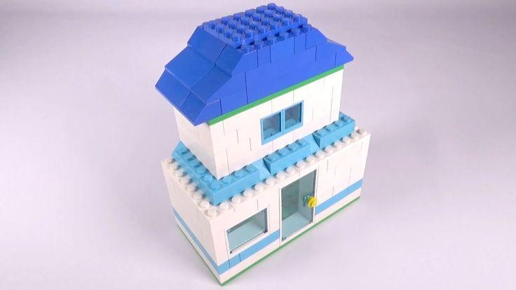 Lego Basic House (002) Building Instructions - LEGO Classic How To Build...