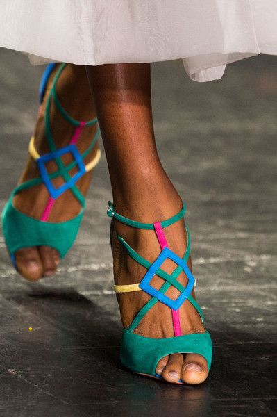 Naeem Khan, Spring 2017 - New York's Best Spring '17 Runway Shoes - Photos