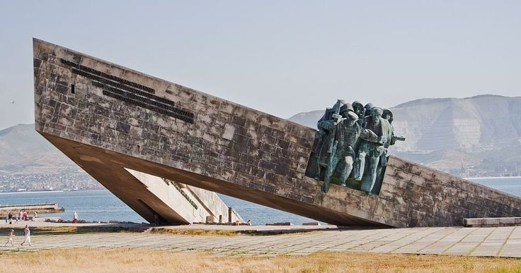 The Malaya Zemlya Memorial in Novorossiysk, Russia, pays homage to a little known but important battle of the Second World War, that eventua...