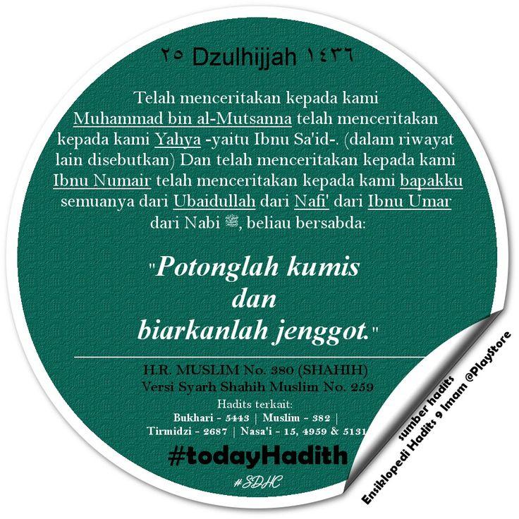 Bismillah   #TodayHadith #hadisshahih #Muslim380 #hadits_hari_ini #25Dzulhijjah1436H #hijriahdate #hijriahcalendar #sharingiscaring #dakwah #muslim #life #sunnah #ISLAM #pictoftheday #latepost