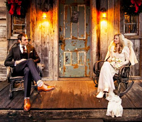 Claire Coffee and Chris Thile - cutest wedding pic ever! @Grimm
