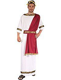 Julius Caesar Outfit Greek God Toga  Men's Halloween Costumes