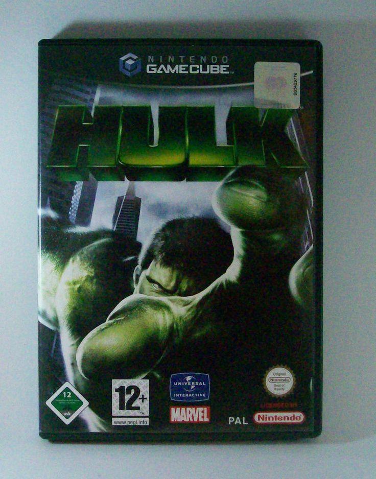 #Hulk #Nintendo #Gamecube #Marvel #Spiel KOMPLETT mit Anleitung #NGC #eBay