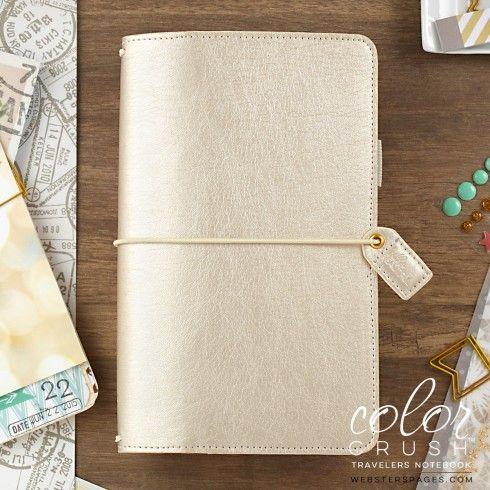 Travelers Notebook Midori Color Crush - Champagne