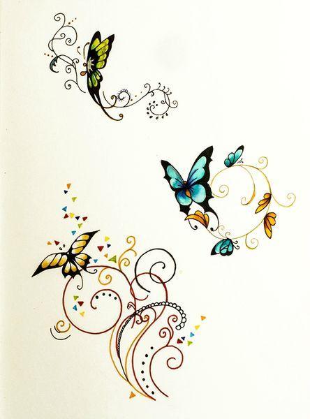 papillons motifs animaux pinterest. Black Bedroom Furniture Sets. Home Design Ideas