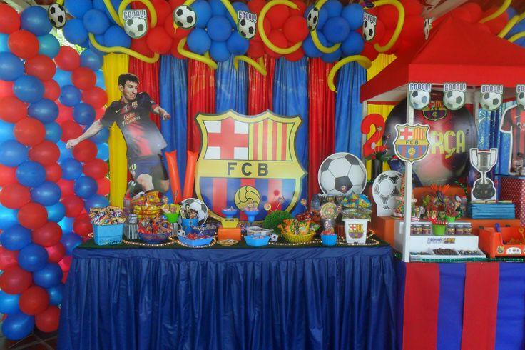 Castillos eventos de ursula newman fiesta f tbol - Decoracion infantil barcelona ...