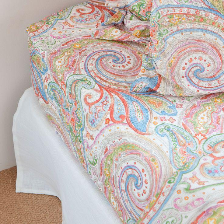 MULTICOLOURED PAISLEY BOTTOM SHEET - Bottom sheets - Bed Linen - BEDROOM | Zara Home United Kingdom