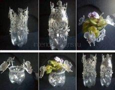 Декор квартиры своими руками – самодельные вазы
