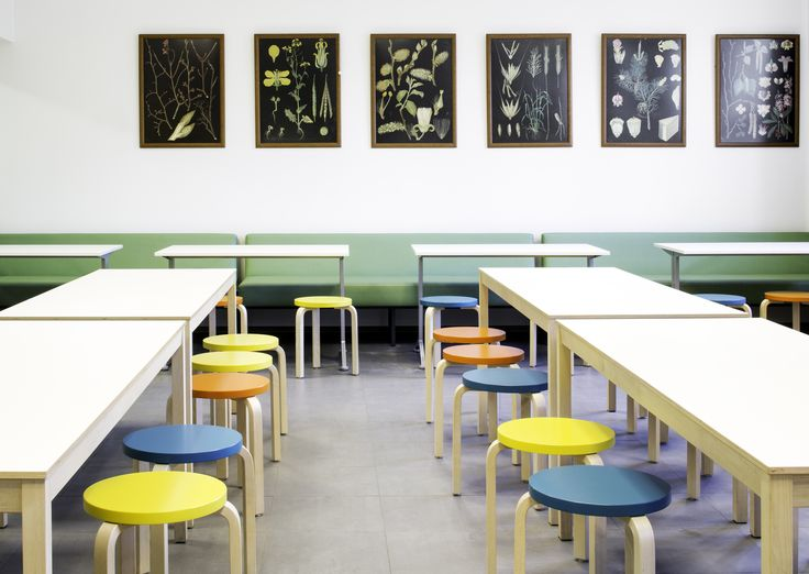 Munkkiniemi elementary school interior design by Sistem Interior Architects