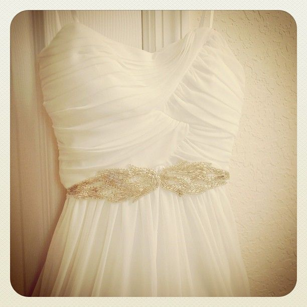 30 best diy wedding sash ideas images on pinterest wedding sash trash to couture diy gift appliqu sash trash to couturebridal solutioingenieria Images