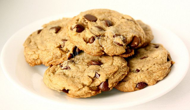 Ultimate Egg Free Chocolate Chip Cookies - this time without that nasty egg replacer stuff.  These sound really good, can't wait to try them!