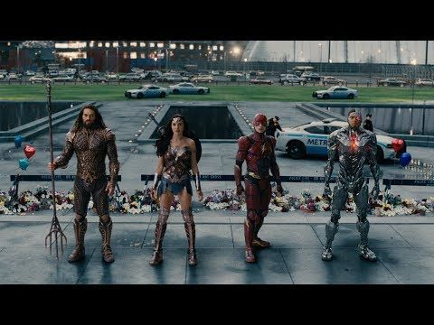 JUSTICE LEAGUE Comic-Con Trailer #3 (2017) DCEU Superhero Movie HD - YouTube