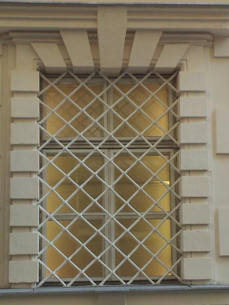 window: looks like prison, but isn't ... | Outdoor decor ...