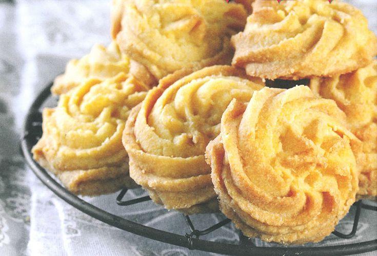 Resep: Botterkaramel-brosbroodrosette