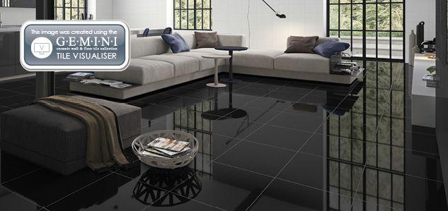 Schwarz Boden Fliesen Wohnzimmer Fliesen Wohnzimmer Wohnung