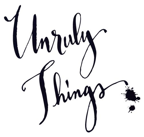 unruly things | ideas, fashion finds, photography, design, and inspiration from everyday life