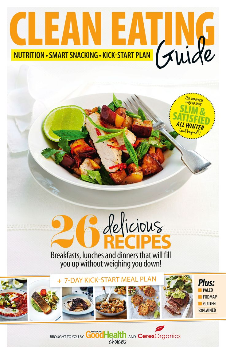 Good Health Choices May 2014 issue's bonus Clean Eating Guide magazine