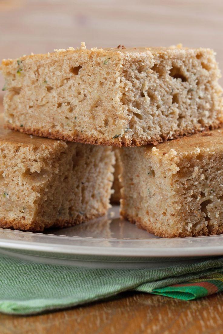Lemon Zucchini Cake Recipe with Walnuts: