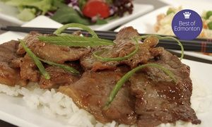 Groupon - Mongolian Barbecue for Two or Four at The Mongolie Grill (47% Off) in Multiple Locations. Groupon deal price: C$32