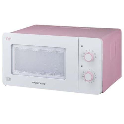 Daewoo QT3 Compact Microwave Oven, 14 L, 600 W - White/Pink  | eBay
