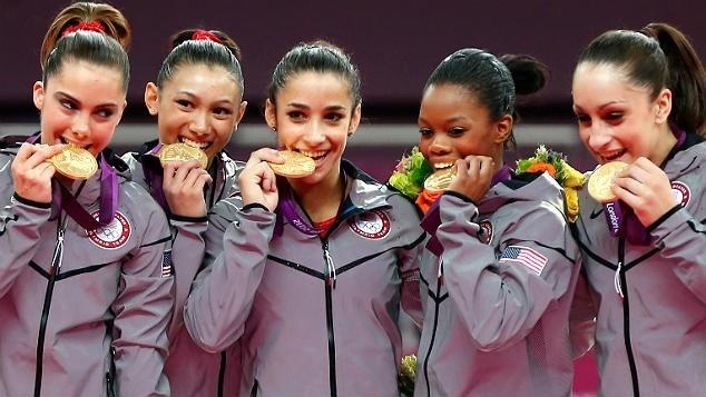 Fab 5Gabby Douglas, Olympics Gymnastics, Gold Medal, Fab Five, Jordyn Wieber, Kyla Ross, Mckayla Maroney, Gymnastics Team, Team Usa