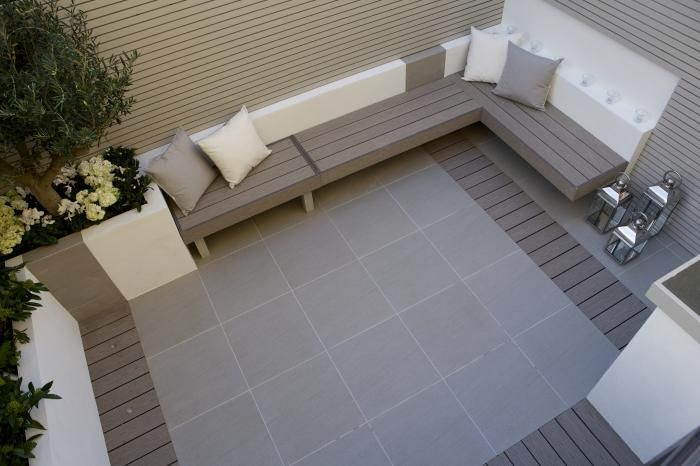 Porcelain Can Be Coupled With Other Low Maintenance Products, Such As  Millboard, To Create A Contemporary Garden Design That Is Low Maintenance,  ...