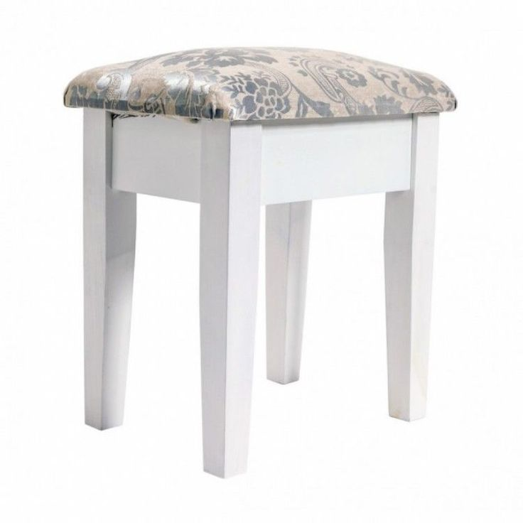 Home Modern Stool Seat Chair Living Room White Furniture Classic Grey Style Wood #HomeModernStool #Modern