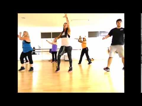 "Super simple choreo used for dance fitness classes. I do not own the rights to this song. Song is ""Uptown Funk"" by Mark Ronso ft Bruno Mars, available on Itu..."