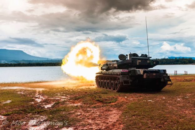Ukraine shipping the next batch of the Oplot-M Main Battle Tanks for Royal Thai Army