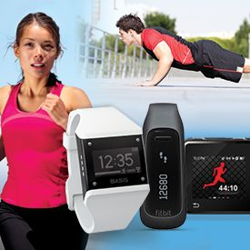 CES 2014 kicks off this week, and some experts predict a rise in fitness technology. Looks like 2014 will be a good year for the fitness gadget!