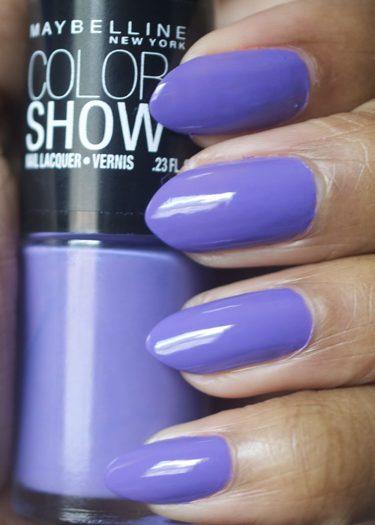 Iced Queen Maybelline Color Show Nail Ideas