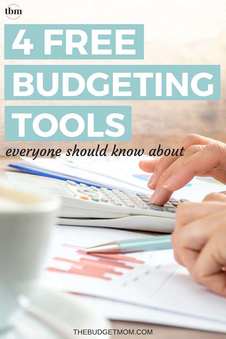 Taking charge of your financial life is so much easier with the right budgeting tools. Check out these four free budgeting tools that allow you to track, manage, and plan a budget designed specifically for you.  via @thebudgetmom