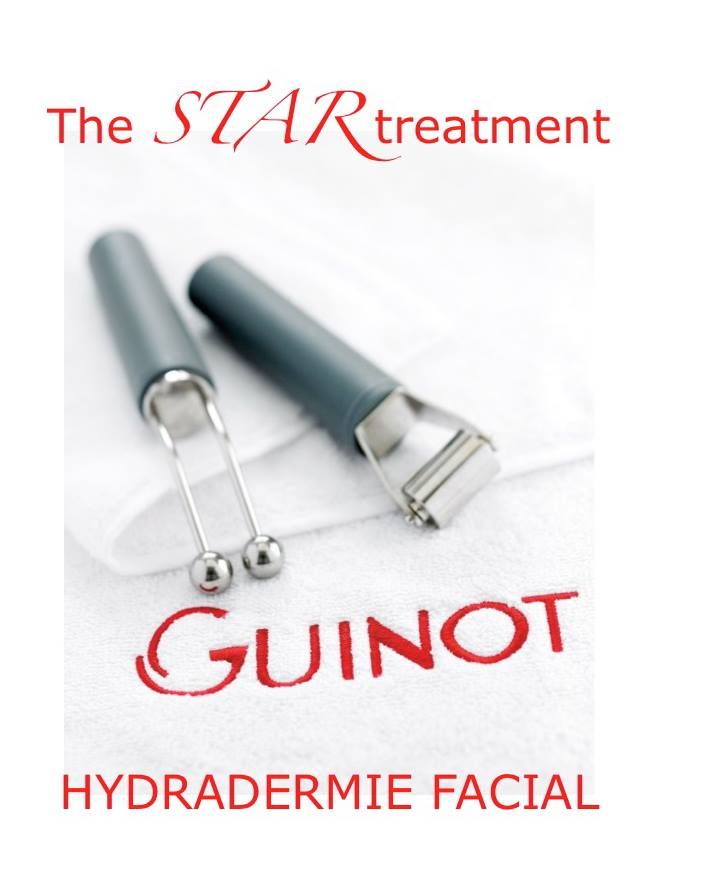Enjoy Hydradermie facials