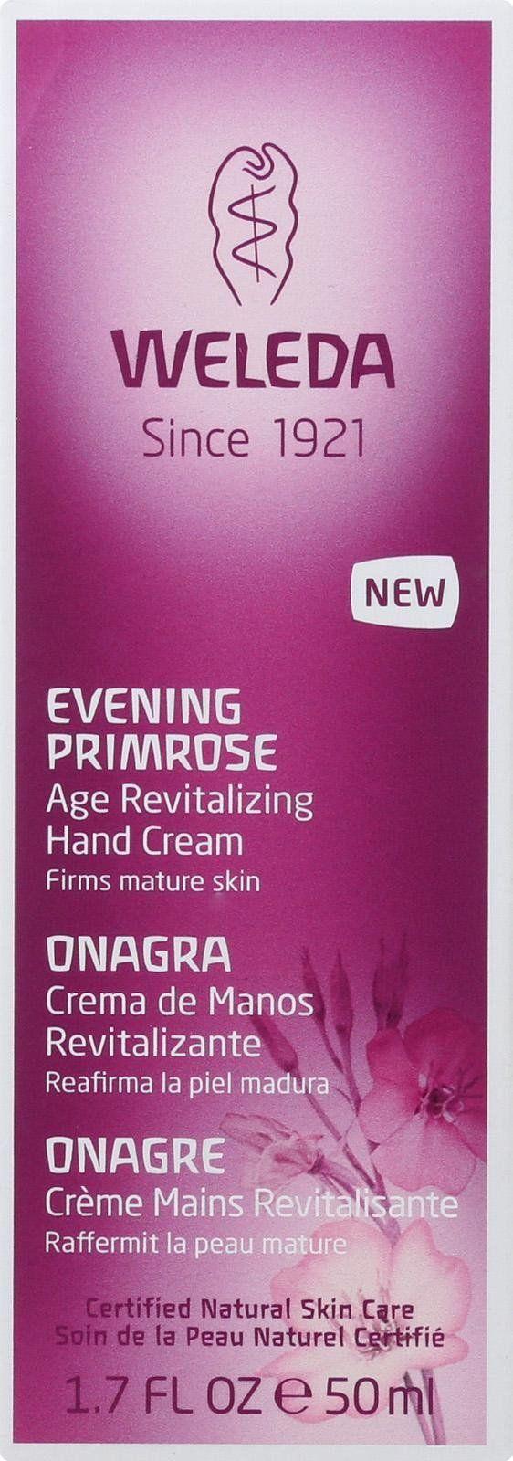 Weleda Hand Creme - Evening Primrose Age Revitalizing - 1.7 Oz