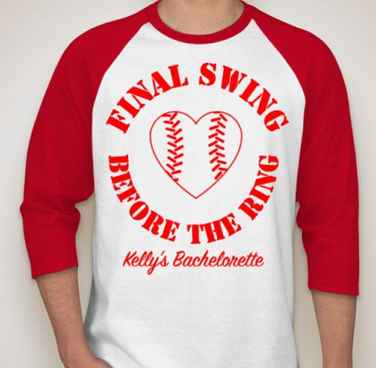 Baseball Bachelorette party shirt